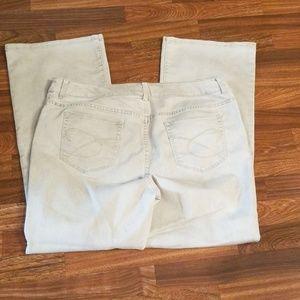 Chico's Platinum Demin Flare Jeans Sz.16